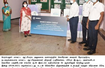 For Corona virus preventive activities, 50 oxygen concentrators worth Rs 40 lakh donated