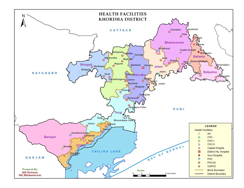 Health Facilities Map
