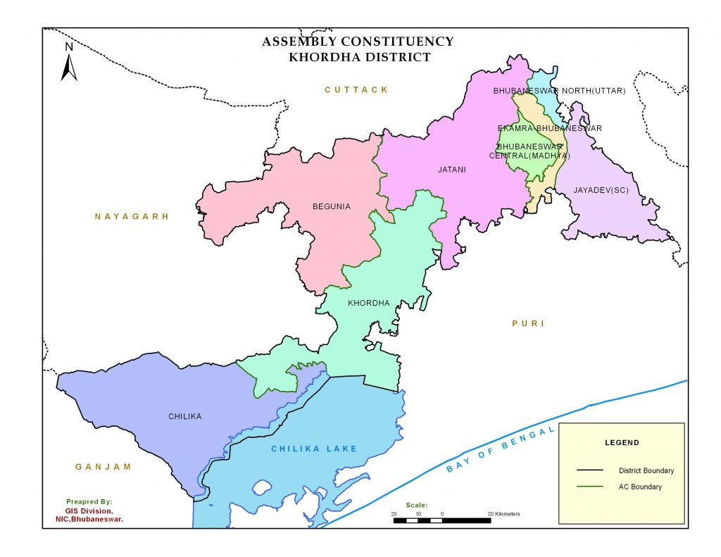Assembly Constituency Map