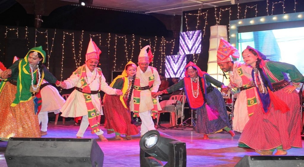 Folk dance in minjar mela