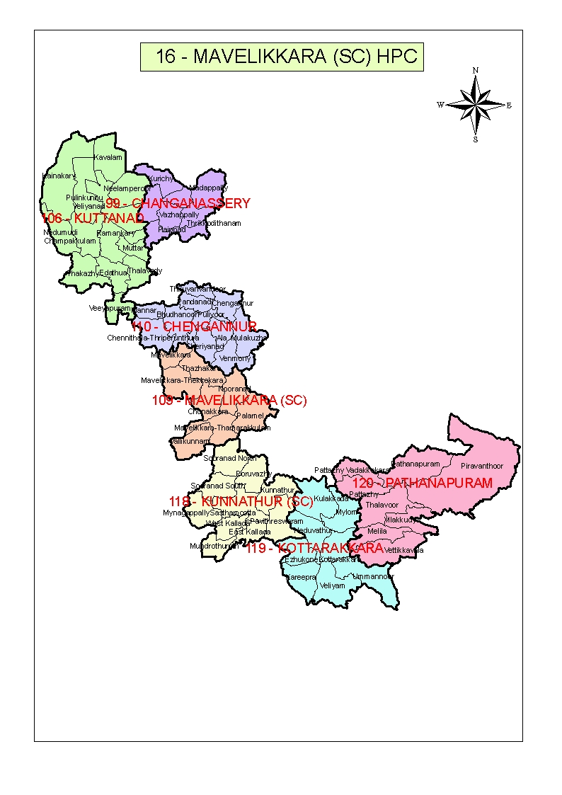 Map of Mavelikkara HPC