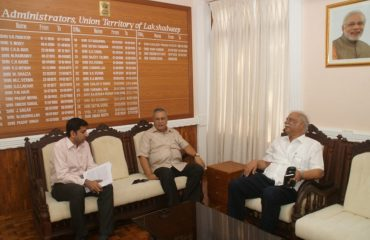 Meeting with Administrator