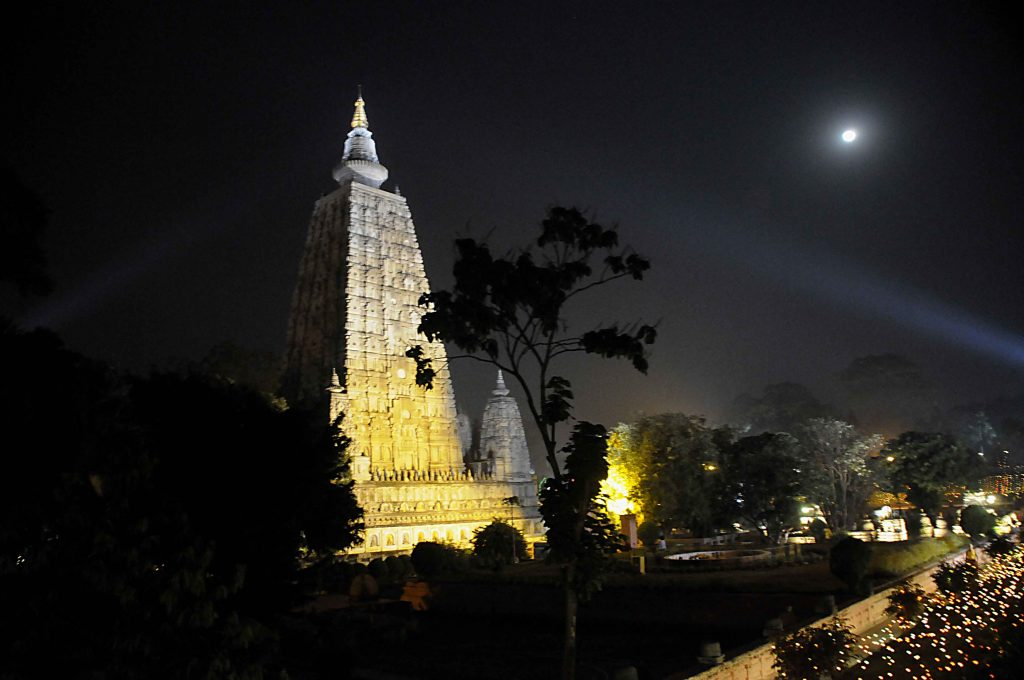 Mahabodhi Night Look