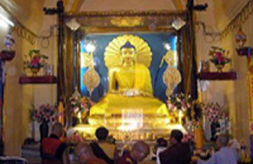 Main temple Statue