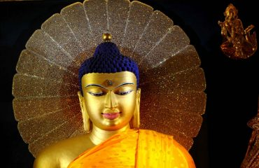 Lord Buddha Main Temple Statue