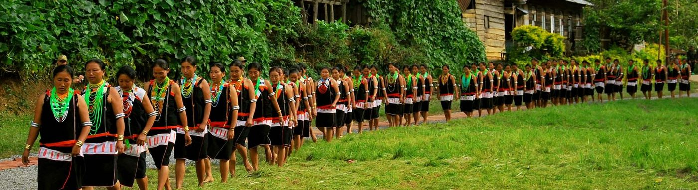 A cultural team of Chakashang tribe