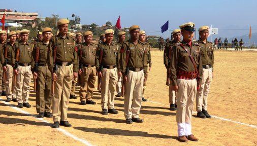 Ukhrul Police contingent