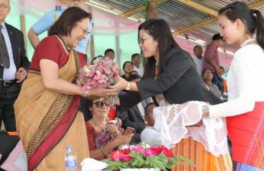 Governor of Manipur during Shirui Festival