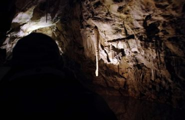 Deep inside Khangkhui Cave