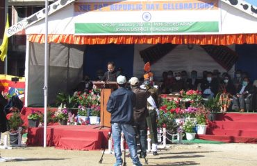 72nd Republic day 2021 at DHQ