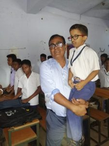 School visit of Collector ~Barendra Krushna Vidyapitha, Banki