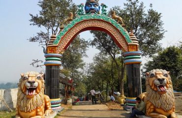 Chandi Mandir gate