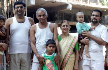 Dr. Prakash Amte with their family