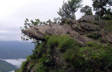 View from rainy season
