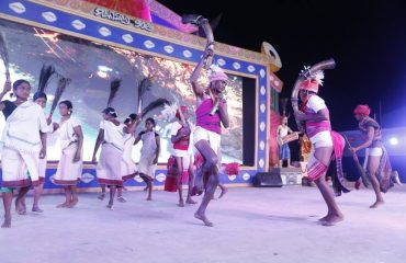 Traditional dance by Tribal of Malkangiri