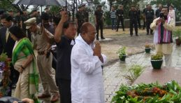Funeral_at_Khongjom_Chief Minister