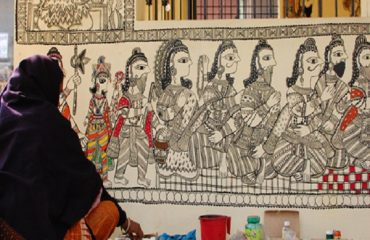 Mithila Painting at Guest House