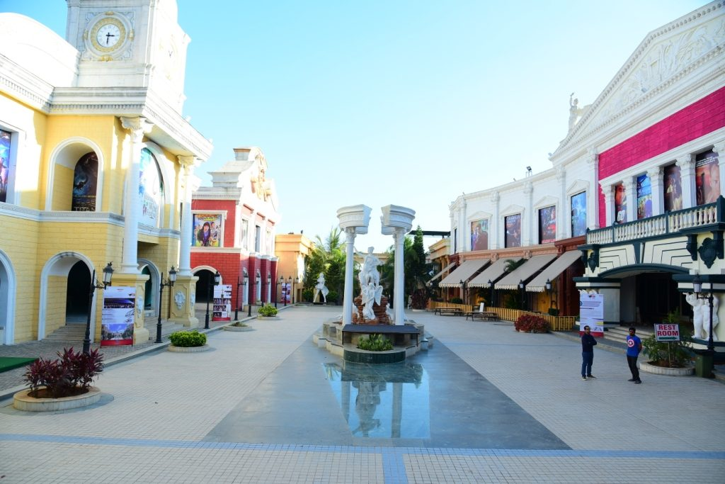 Inside View of Film City