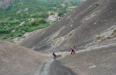 Adventure at Savanadurga Hill