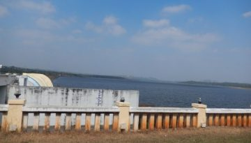 Kanva Dam side view
