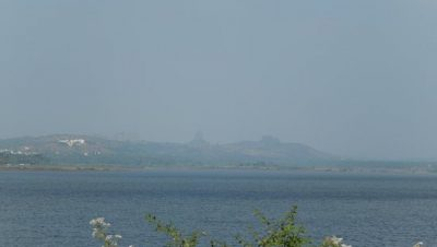 Kanva Dam side water view