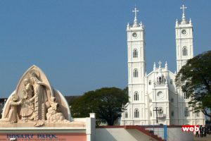 Vallarpadam church..