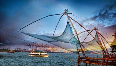 China net at fort kochi