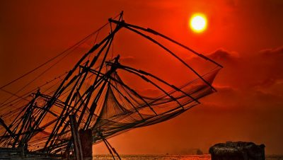 Sunset From FortKochi