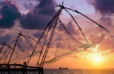 Chinese Fishing Nets.