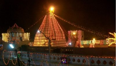 Basukinath Temple at Night