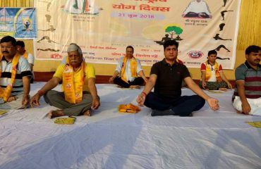 Yoga day(Mr. Ameet Kumar)
