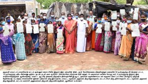 The District Collector will personally visit and provide various government welfare assistance to the people of the Irular Tribes in Palacode Taluk