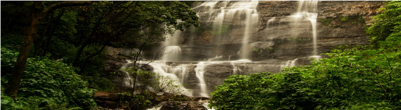 Sagir Ahmed water falls in Chikkamagaluru District