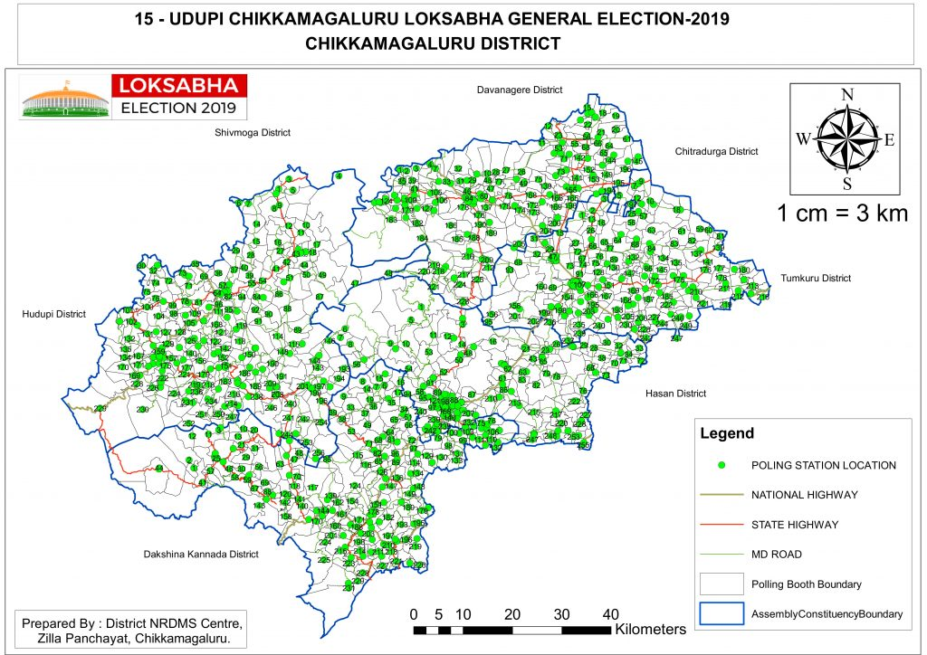 Election 2019 | District Chikkamagaluru, Government of