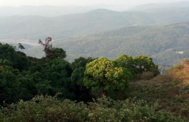 Deep View point at Mullayanagiri Chikkamagaluru