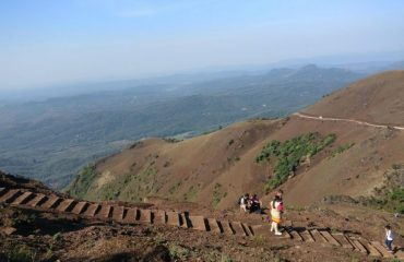 Stairs for climbing the Mullayanagiri hill