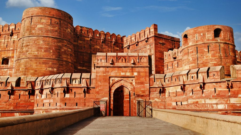 Agra fort, agra historical places
