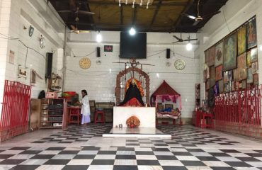 Inside View of Goddess Kali Temple at Araria