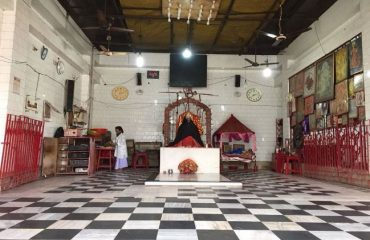 Inside view Goddess Kali Temple