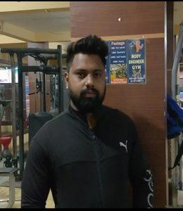 श्री अश्विन जी यादव जिम प्रशिक्षक