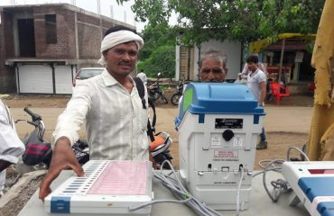 VVPAT Demo under SVEEP
