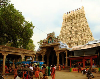 Sankarankovil Tower Front view