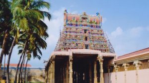 Thirukkurungudi Temple front view