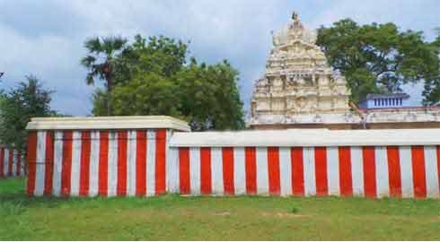 Thenthirupperai temple side view
