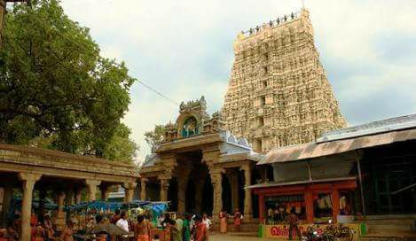 Papanasam temple front view