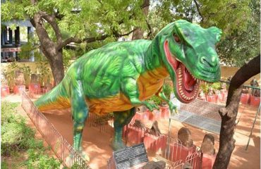 Dynosaur Model in the Park