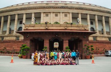 NCLP Tirunelveli STC Children in front of parliament House