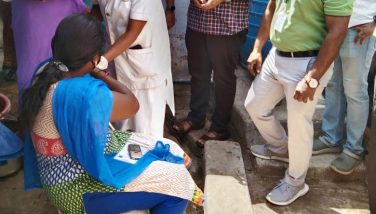 District Collector inspected Special Corona Vaccination Camp