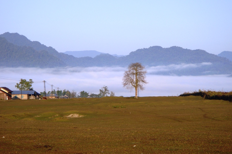 Vijoynagar Valley. The Vijoynagar tehsil has a cluster of about 16 villages. (Credit: Changlang district administration)