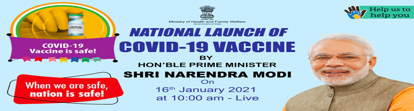 National launch of COVID-19 vaccine